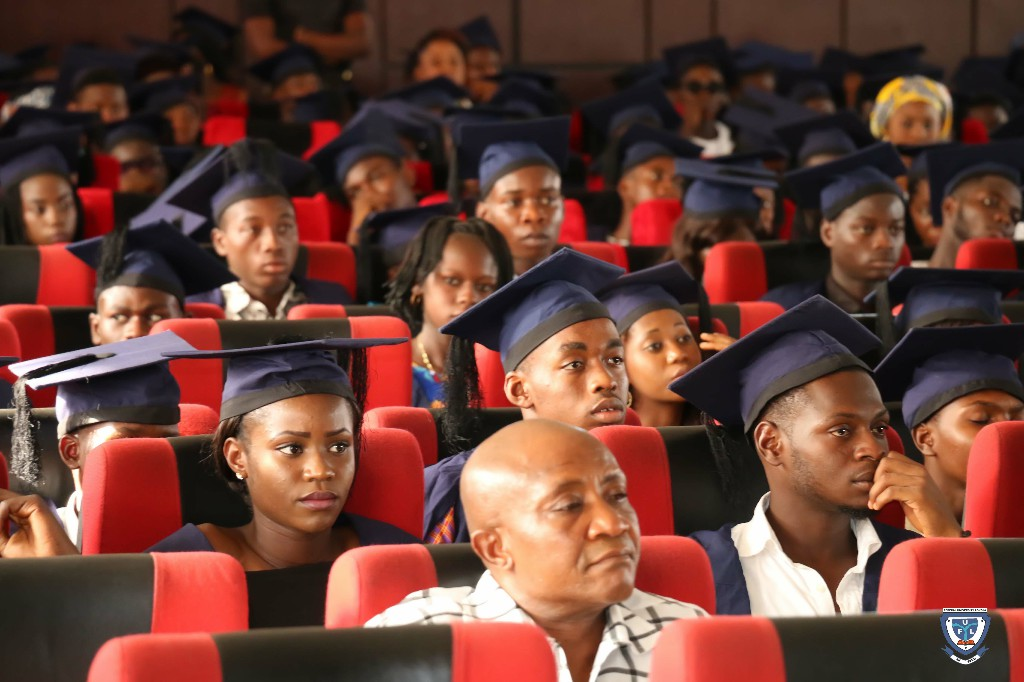 Cross section of the Matriculating Students at the 6th Matriculation Ceremony of FUL