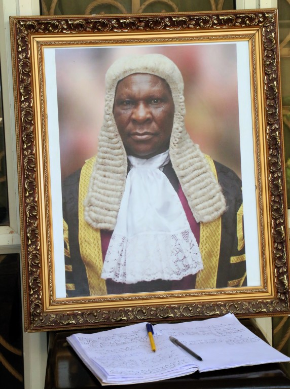 Portrait of the Late Hon. Justice Lazarus Dakyen, former Chief Judge of Plateau State