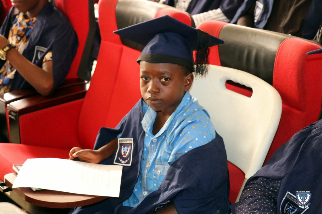 One of the Matriculating Students at the 6th Matriculation Ceremony of FUL