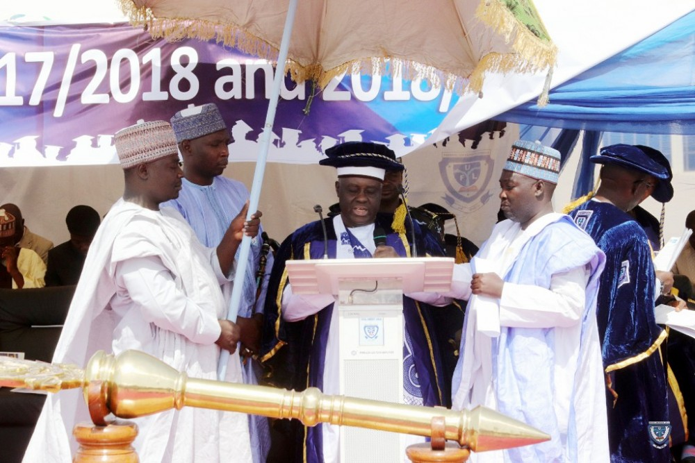 Convocation Address Delivered By The Chancellor, H.r.h., Alhaji (dr) Muhammadu Abali Ibn Muhammadu Idriss Con, The Emir Of Fika At The 3rd & 4th Combined Convocation Ceremony