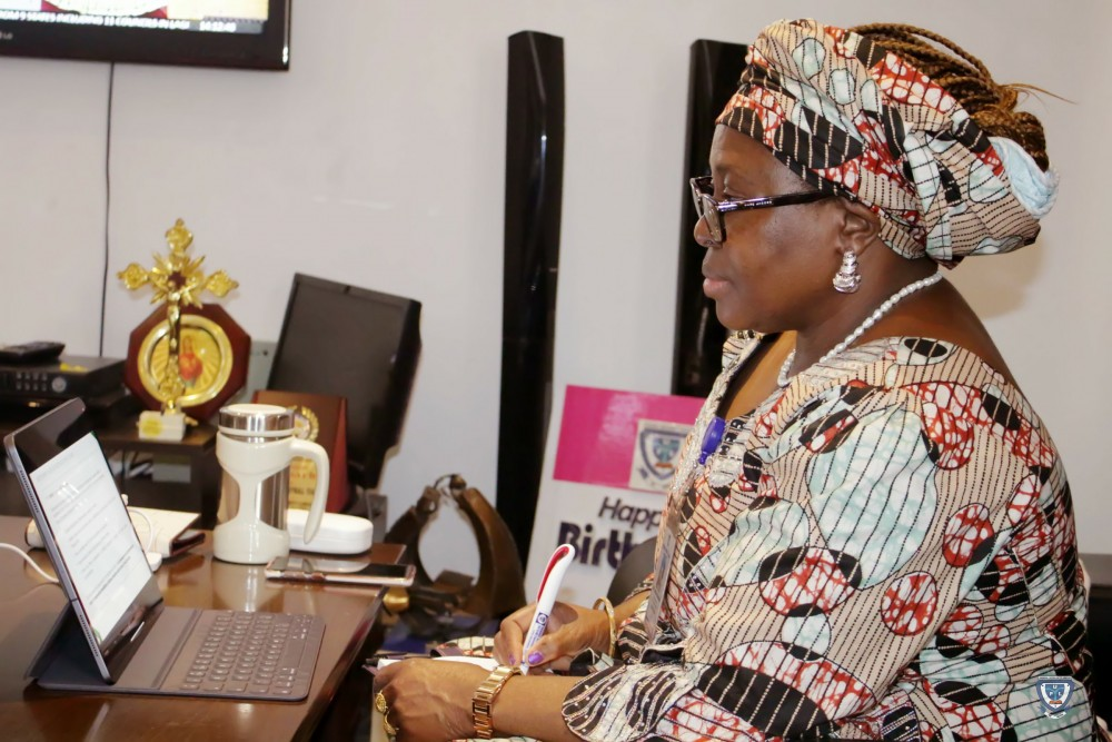 Ful To Benefit From Rea/afdb Electrification Intervention As Vc, Prof. Angela F. Miri Participates In First Stakeholders Virtual Meeting