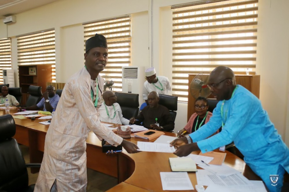 Leadership By Example: Ful Vc Prof. Akinwumi Presents Himself Before Staff Audit Committee For Screening