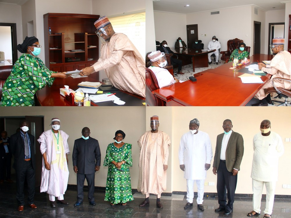 Photo News: Ful Vc Prof. Miri Leads Other Vcs On A Courtesy Visit To The Minister Of Communications And Digital Economy