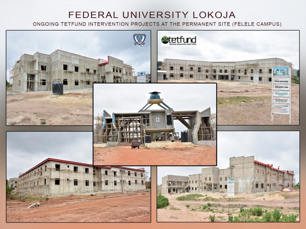 Photo Speak: Ongoing Massive Infrastructural Development Of Ful Permanent Site Through Tetfund Interventions